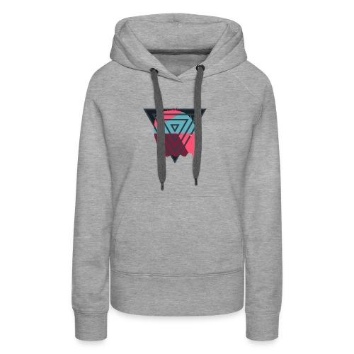Designer Triangle street wear - Women's Premium Hoodie