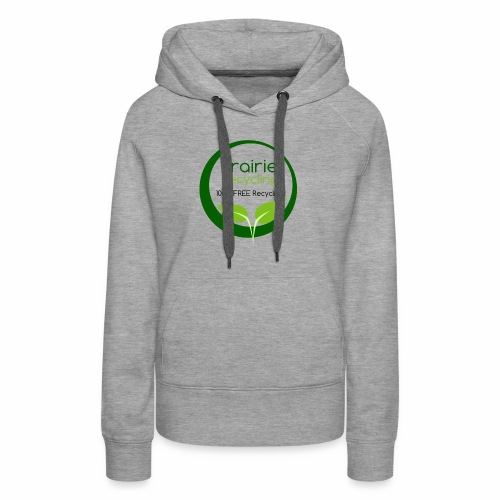 Prairie Recycling Official Logo - Women's Premium Hoodie