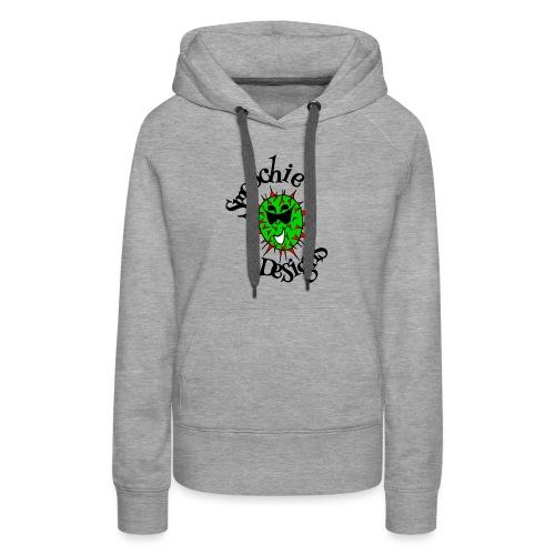 Smoochie Designs logo - Women's Premium Hoodie