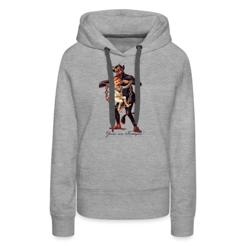 Gruss vom (Greetings From) Krampus - Women's Premium Hoodie