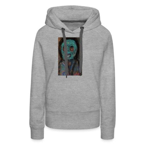 The galactic space monkey - Women's Premium Hoodie