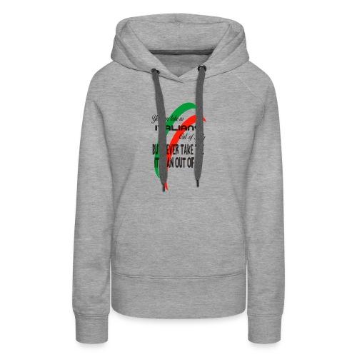 Italian top - Women's Premium Hoodie