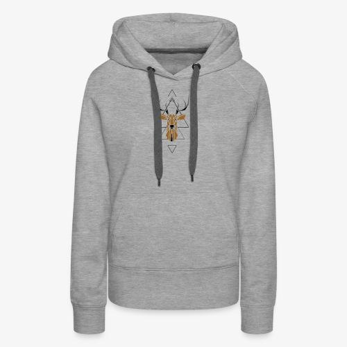 Deer Geometric - Women's Premium Hoodie