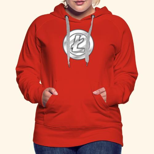 Litecoin Tee Shirt - Women's Premium Hoodie