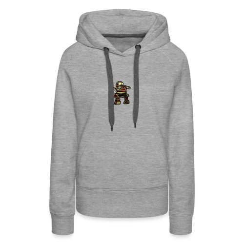 Inuksuk Totem Figure in Gold - Women's Premium Hoodie