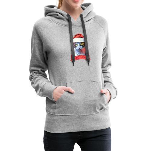 MERRY CATMAS - Women's Premium Hoodie