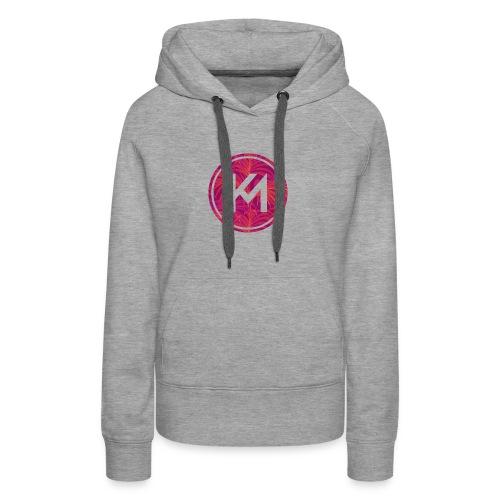 KM logo - Women's Premium Hoodie