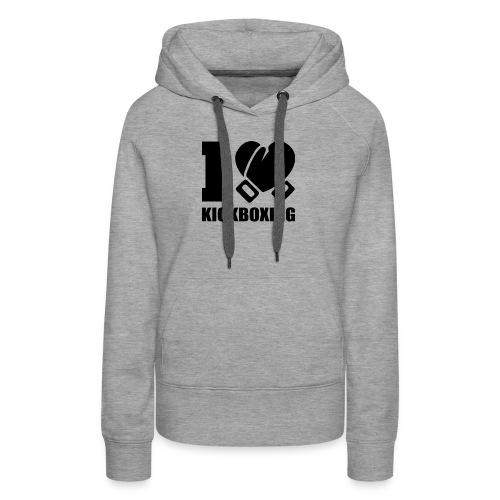 I Love Kickboxing - Women's Premium Hoodie