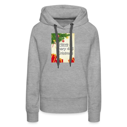 Have a Mary 445 Christmas - Women's Premium Hoodie