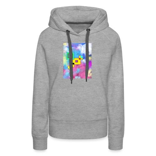 Cosmic Bee - Women's Premium Hoodie