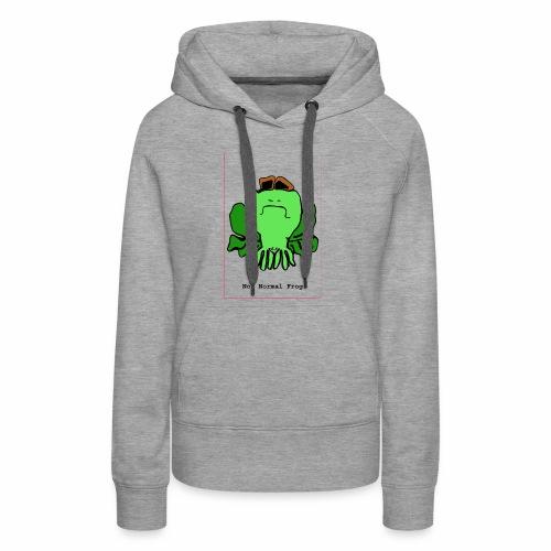 not normal frog - Women's Premium Hoodie