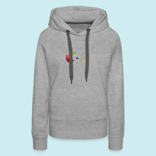 Apple or windows? - Women's Premium Hoodie