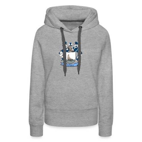 Lithgow Family Crest - Women's Premium Hoodie
