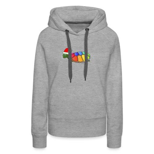 Rainbow Turtle - Women's Premium Hoodie