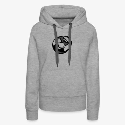 Black and Grey Performance - Women's Premium Hoodie
