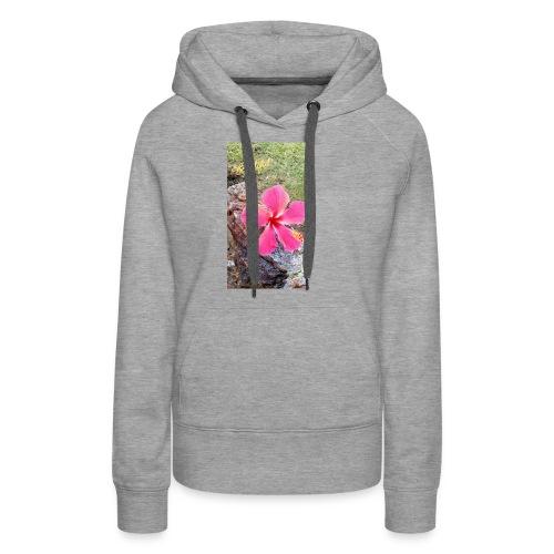 Pink Beach Flower - Women's Premium Hoodie