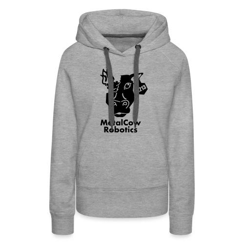 MetalCow Solid - Women's Premium Hoodie