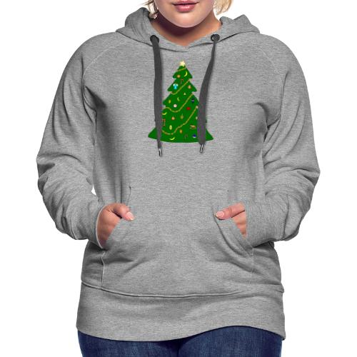 Christmas Tree For Monkey - Women's Premium Hoodie