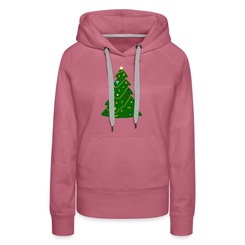 Christmas Tree For Monkey - Women's Premium Hoodie
