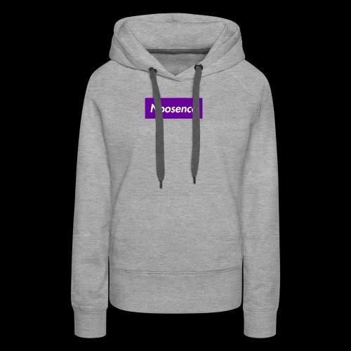 Noosence Logo purple - Women's Premium Hoodie