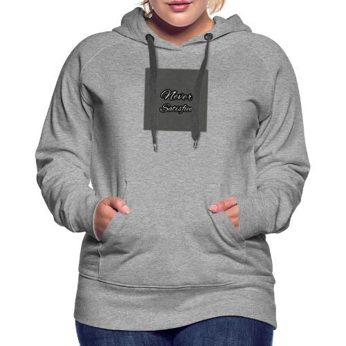 Slogan White Grey2 - Women's Premium Hoodie
