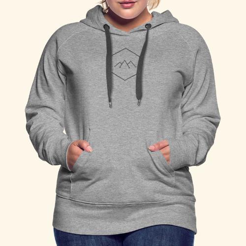 Mountain Hex - Women's Premium Hoodie