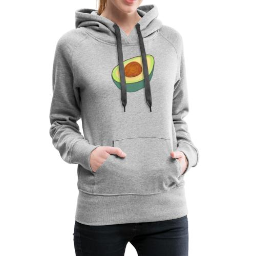 You Are On The Good Side Of Fat! Avocado Mens Co - Women's Premium Hoodie