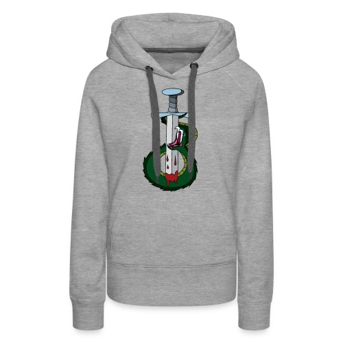 Snake and the sword - Women's Premium Hoodie
