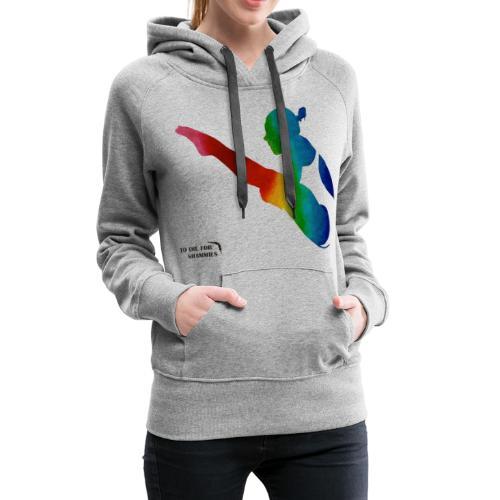 Rainbow Diver - Women's Premium Hoodie