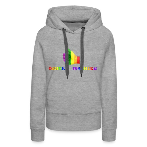 Logo LGBT + Name of the company - Women's Premium Hoodie