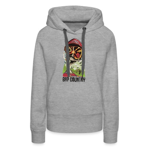 Fear and Mario at Bat Country - Women's Premium Hoodie