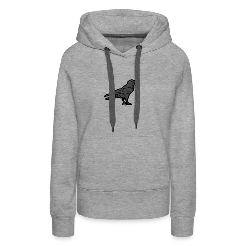Raven's Nest Emblem - Women's Premium Hoodie