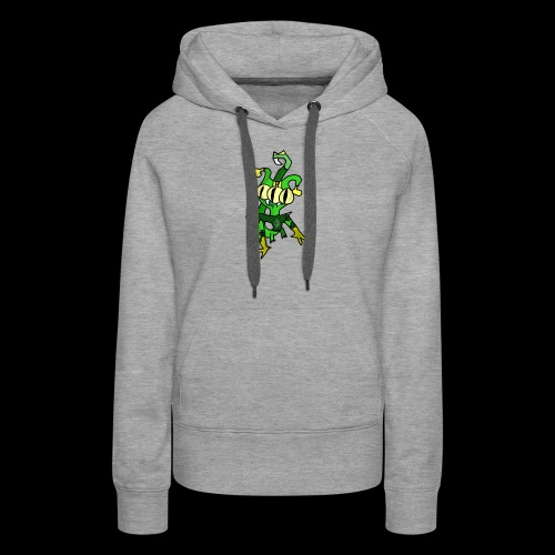 Three-Eyed Alien - Women's Premium Hoodie