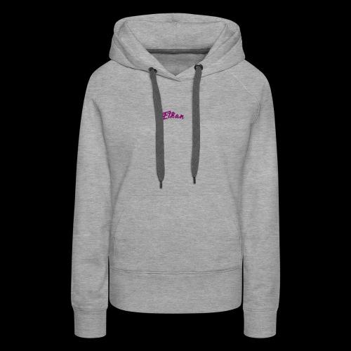 ETHAN LOGO - Women's Premium Hoodie