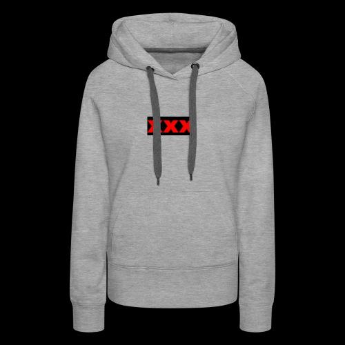 XXX OG Box Logo - Women's Premium Hoodie