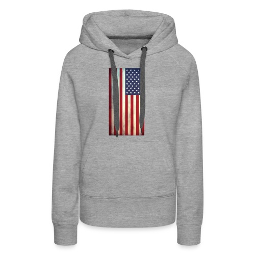 the american flag wear and Accessories - Women's Premium Hoodie