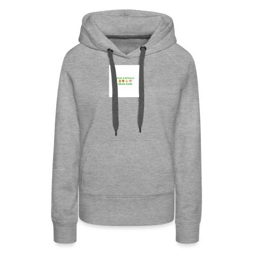 MAKE AUSTRALIA GREEN AGAIN TREES - Women's Premium Hoodie
