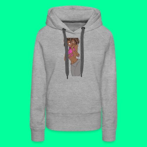 Wakandan Pink - Women's Premium Hoodie