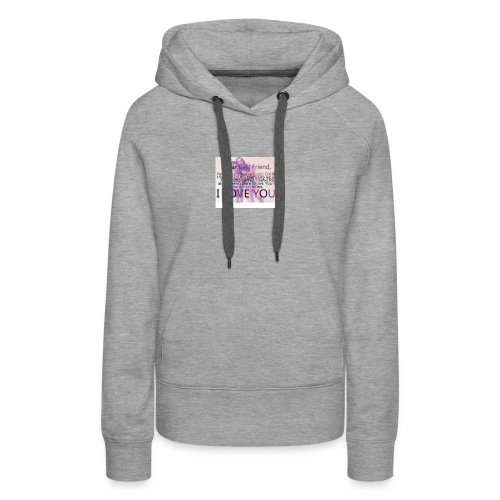 Cute best friends - Women's Premium Hoodie