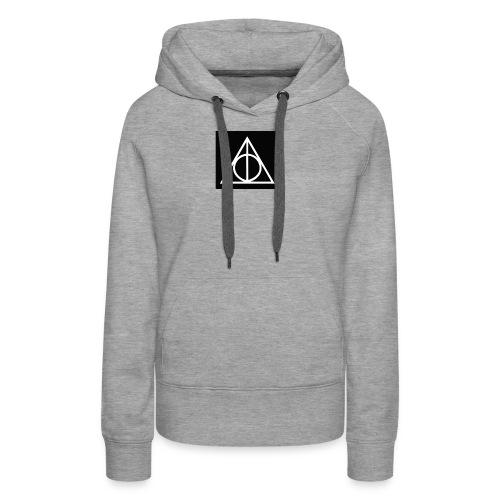 Harry Potter Deathly Hallows Mark - Women's Premium Hoodie