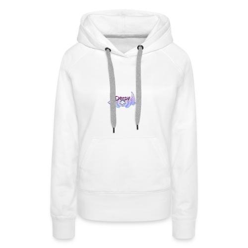 Derpy Main Merch - Women's Premium Hoodie