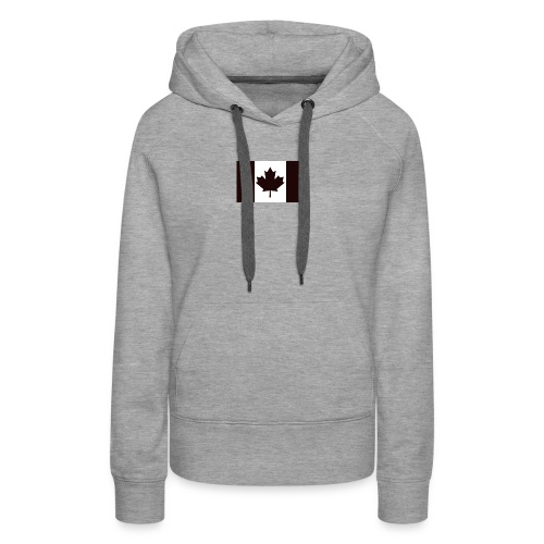 Military canadian flag - Women's Premium Hoodie