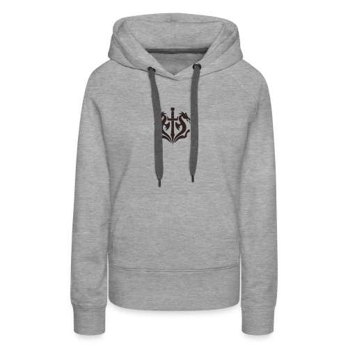 Black Dragon - Women's Premium Hoodie