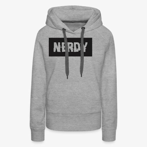 NerdyMerch - Women's Premium Hoodie