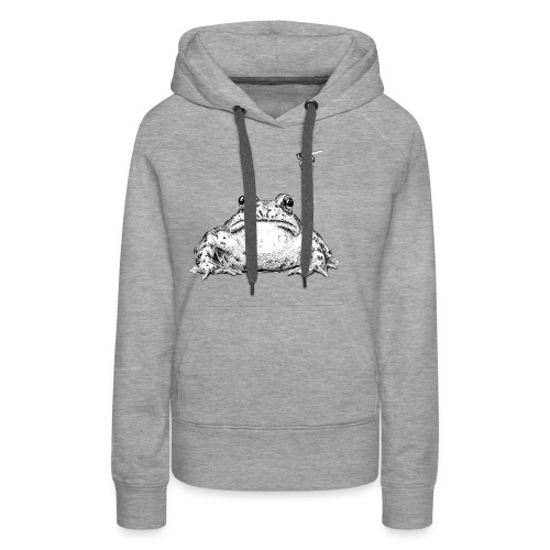 Frog with Fly by Imoya Design - Women's Premium Hoodie