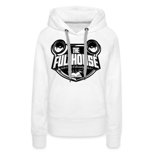 iPad 2/3 Case With Black/White FHE Logo - Women's Premium Hoodie