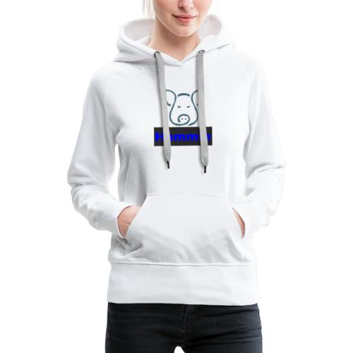 Hammie Logo with Brand Name - Women's Premium Hoodie