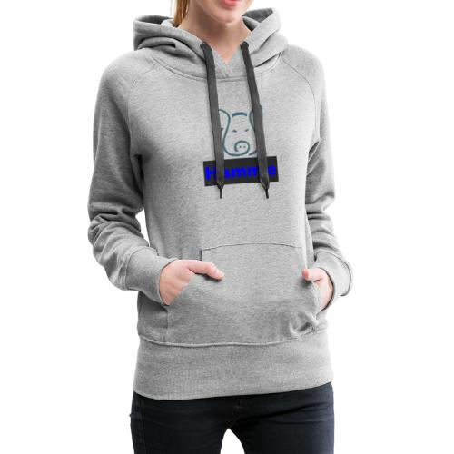 Hammie Logo with Brand Name - Women's Premium Hoodie