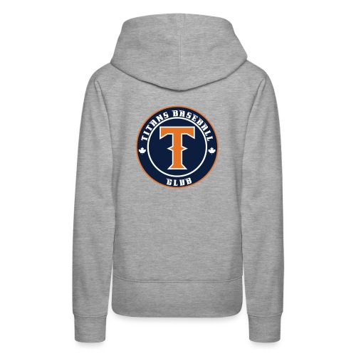 Titans Baseball Club Round Logo - Women's Premium Hoodie