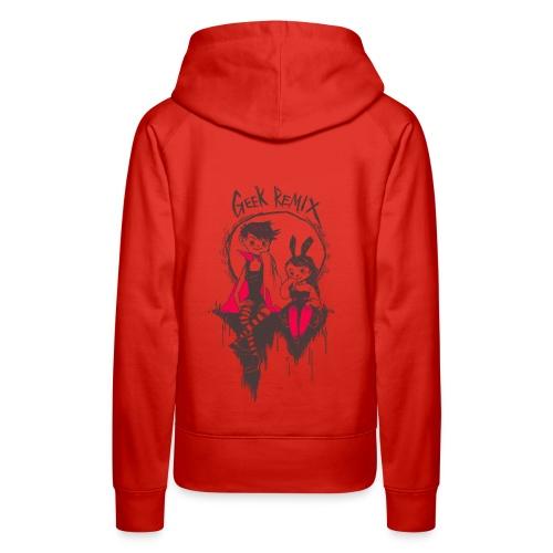 horrorthonTshirt png - Women's Premium Hoodie